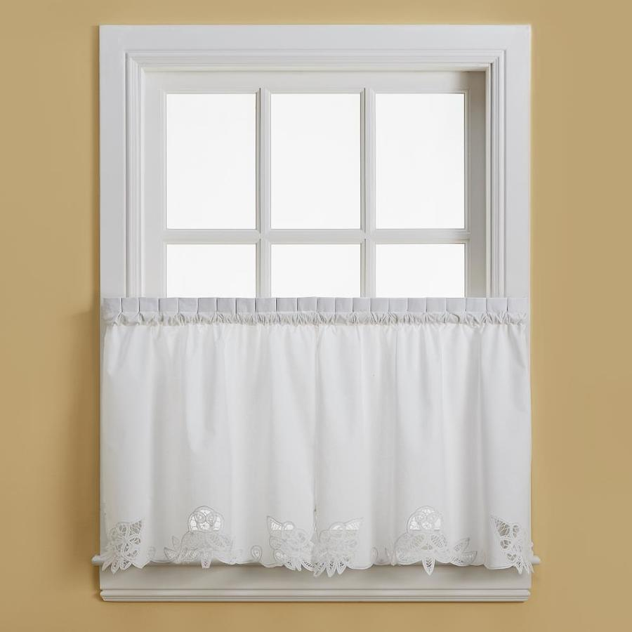 Chf Battenburg 36 In Tier Set White The Valances Department At Lowes Com