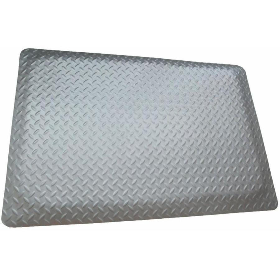 "4/' x 8/'11/'/' 7//8/"" Thick  Diamond Surface Industrial Anti Fatigue Matting ."