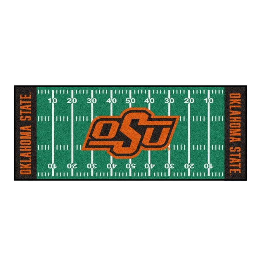 FANMATS NCAA Oklahoma State University Cowboys Nylon Face Football Field Runner