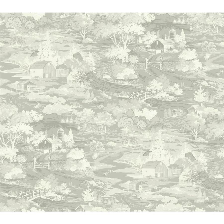 York Wallcoverings LK8305 Willow Tree Wallpaper Greens,White//Off Whites