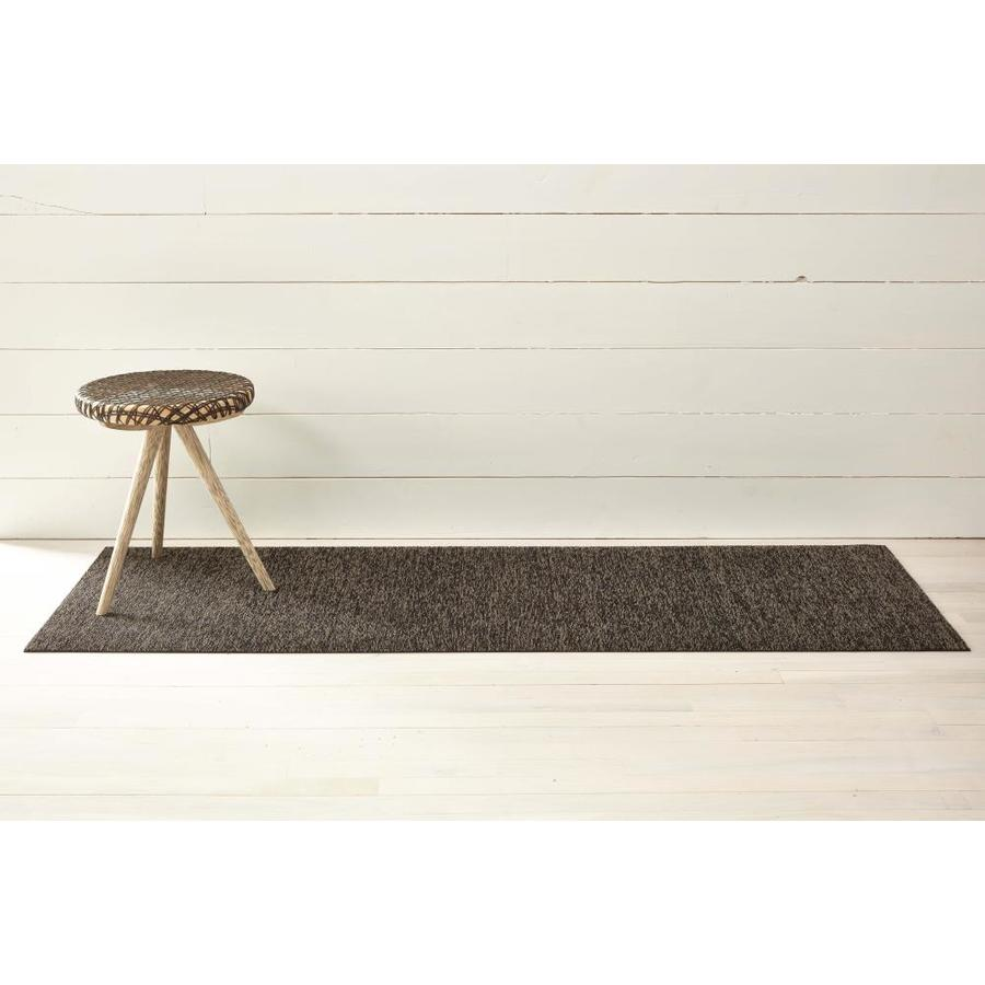 Chilewich Shag Mats 2 X 6 Black Tan Indoor Outdoor Solid Runner In The Rugs Department At Lowes Com