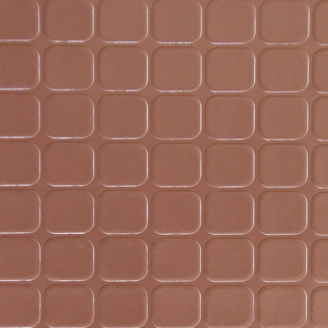 Rubber Cal Block Grip Brown Solid Color Vinyl Plastic Roll Multipurpose