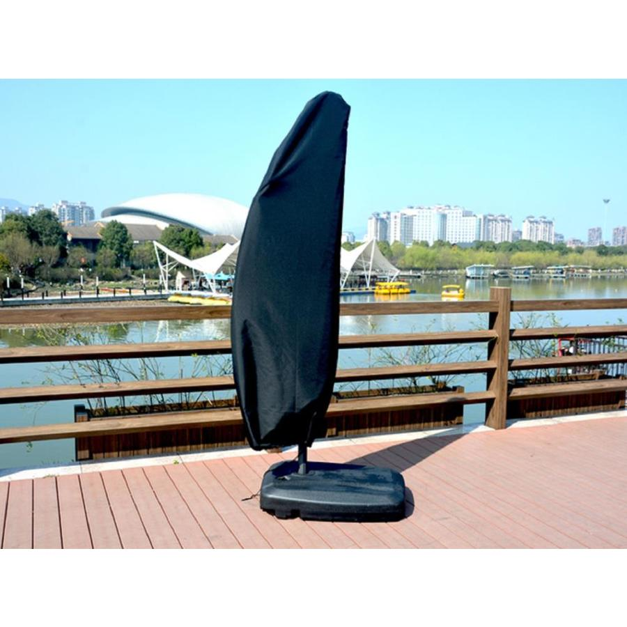 48 25cm Fdit Dustproof Waterproof Umbrella Cover Offset Protective Parasol for Patio and Garden Zipped 205cm:57