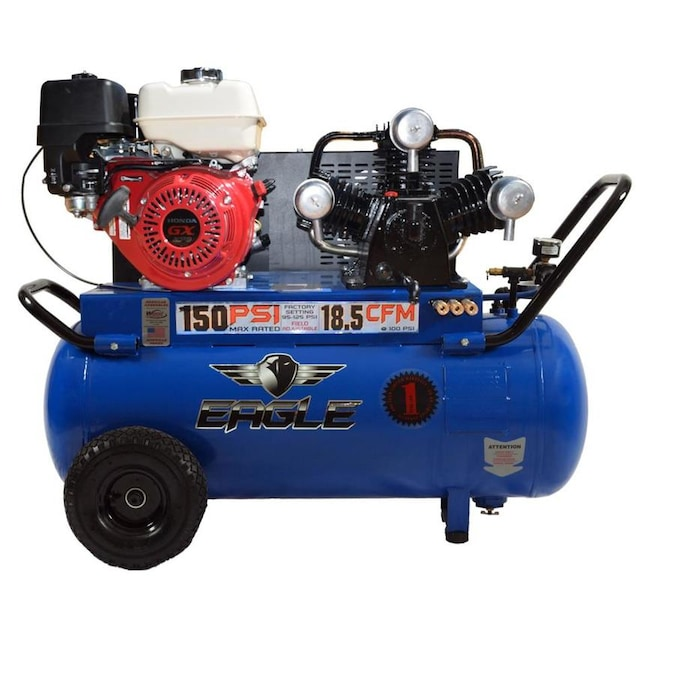 EAGLE Eagle 9 -HP 25 Gallon Portable Gas Air Compressor