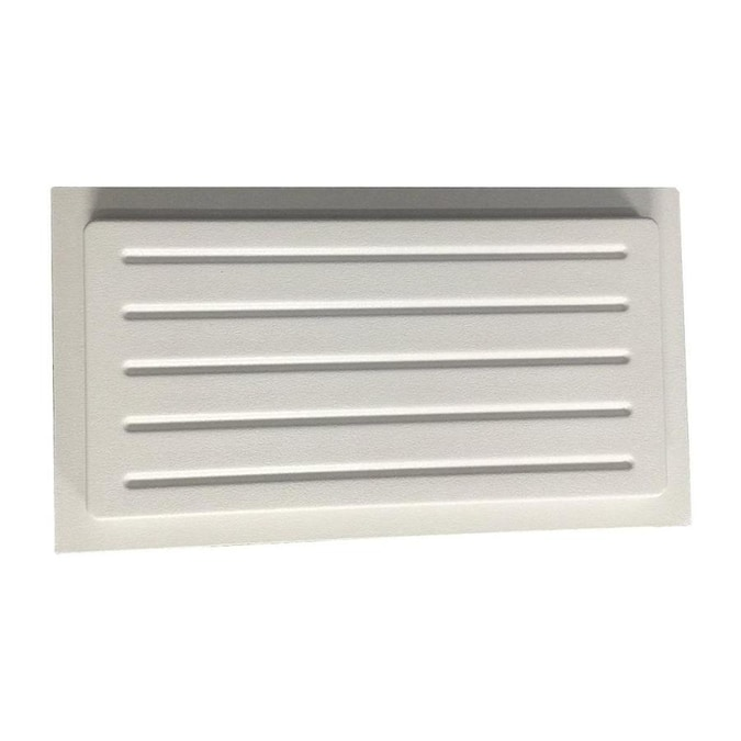 Crawl Space Door Systems Crawl Space Vent Cover Outward Mounted 13 In Height X 21 In Width White In The Foundation Vent Covers Department At Lowes Com