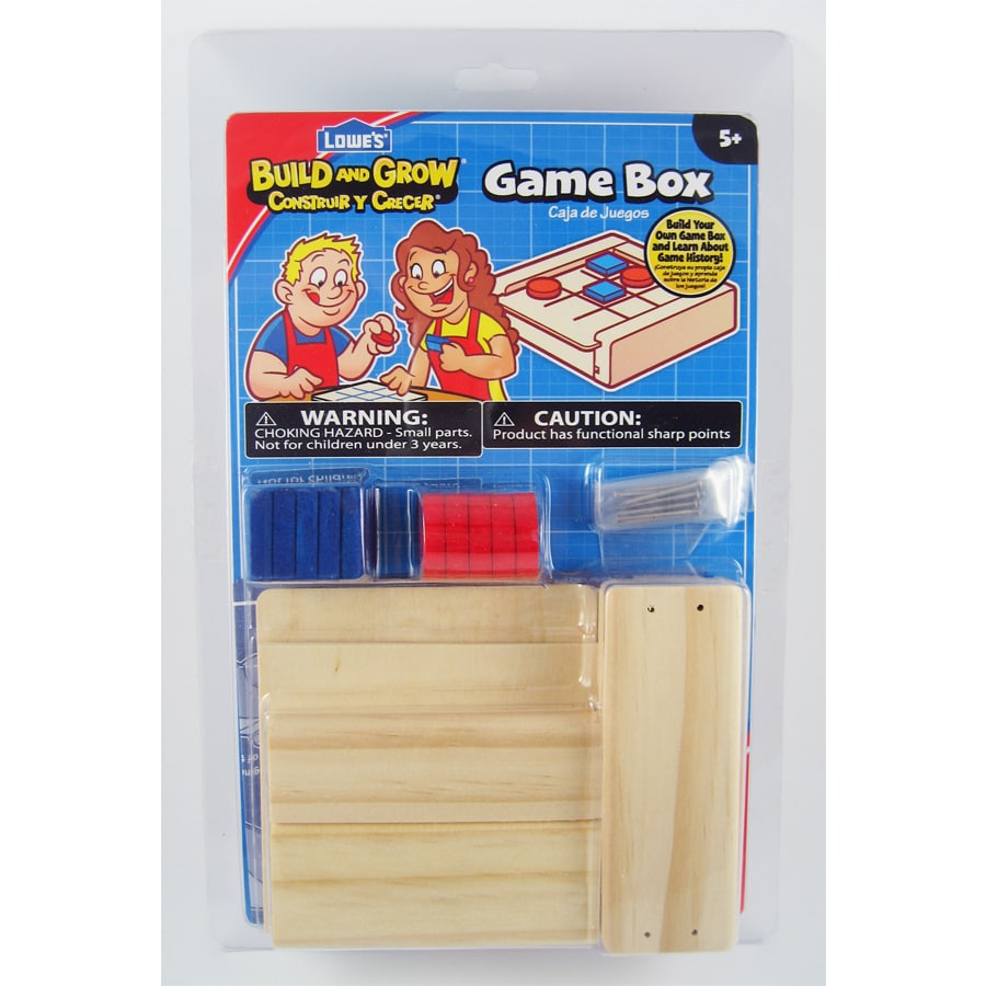 Build and Grow Kid's Beginner Build and Grow Game Box Project Kit