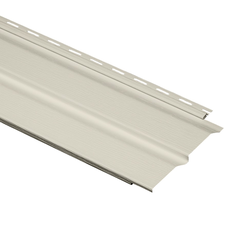 Durabuilt 24-Pack 9.3-in x 150-in Ivory Dutch Lap Vinyl Siding Panels