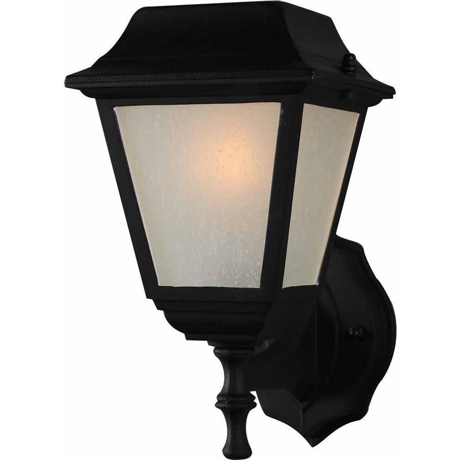 Lahoma 11-in H Black Outdoor Wall Light