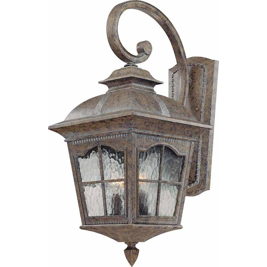 Elida 25.5-in H Amulet Bronze Outdoor Wall Light