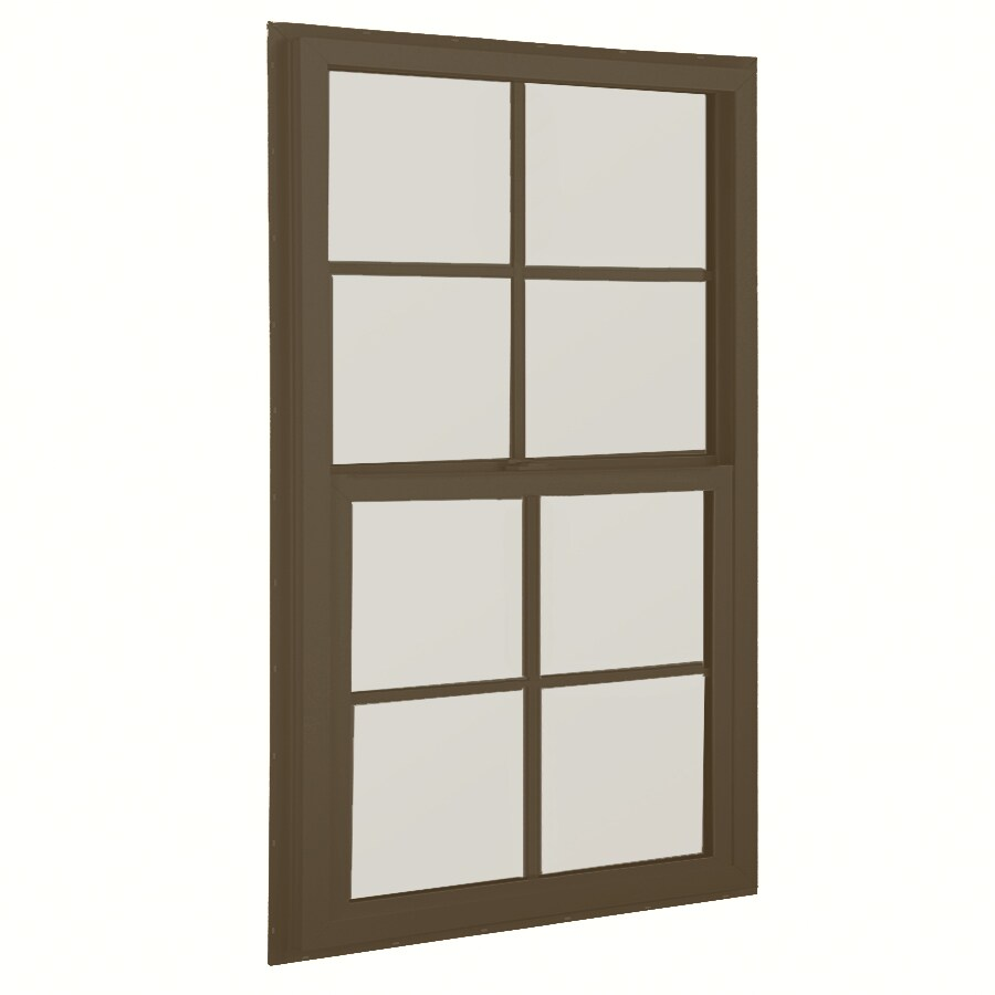 BetterBilt 32-in x 52-in 3040TX Series Aluminum Double Pane New Construction Single Hung Window