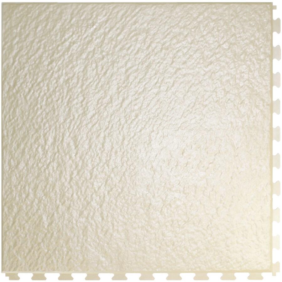 Perfection Floor Tile 6-Piece 20-in x 20-in Sandstone Slate Garage Floor Tile