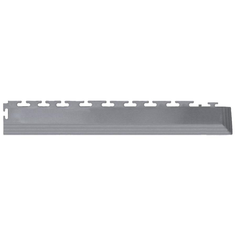 Perfection Floor Tile 4-Pack Light Gray 3-in W x 20-1/2-in L Garage Flooring Corners