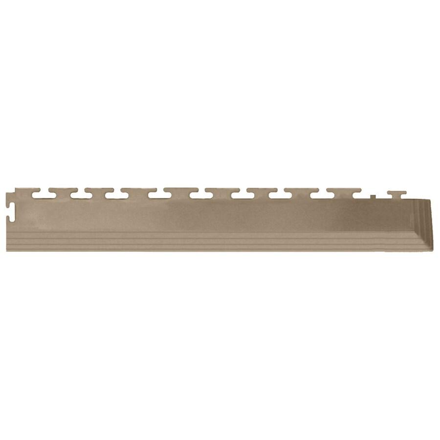 Perfection Floor Tile 4-Pack Beige 3-in W x 20-1/2-in L Garage Flooring Corners
