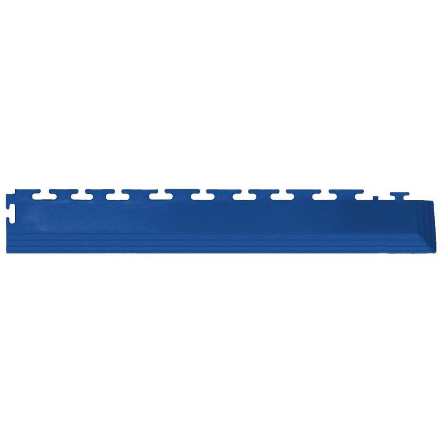 Perfection Floor Tile 4-Pack Dark Blue 3-in W x 20-1/2-in L Garage Flooring Corners