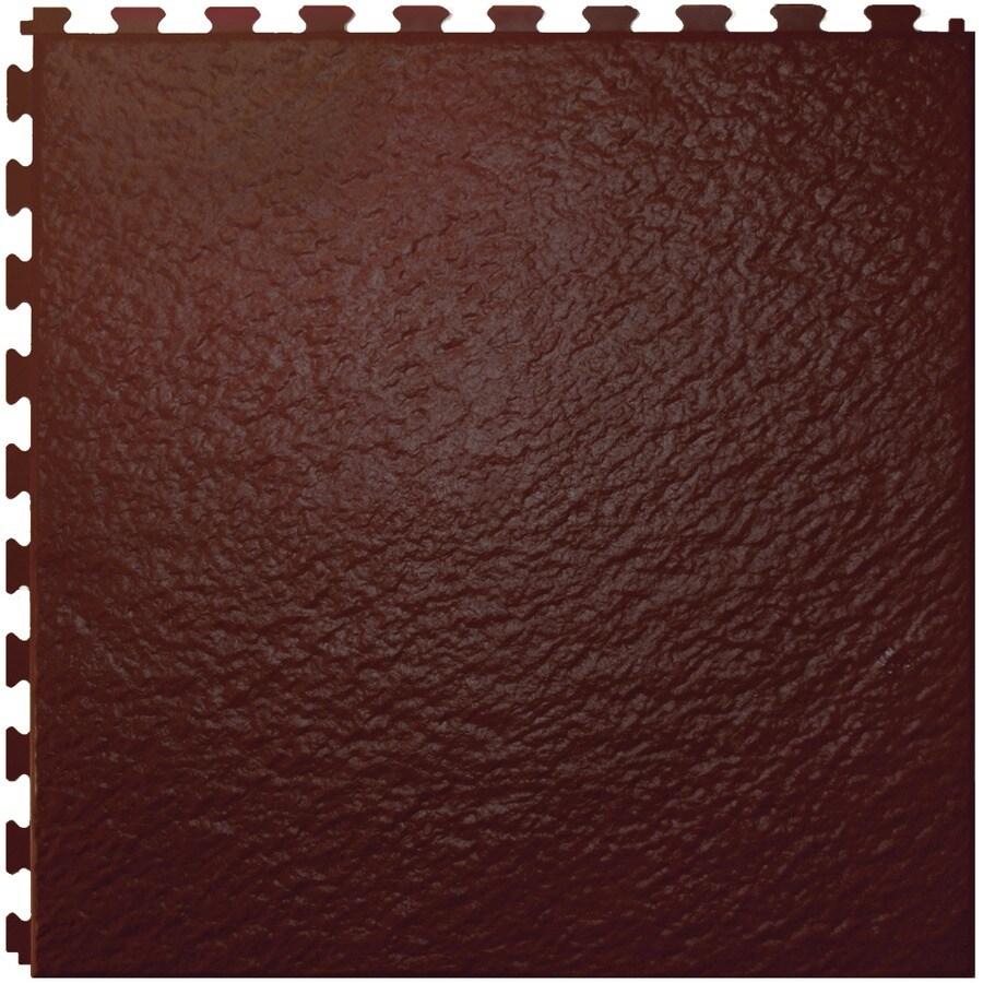 Perfection Floor Tile 6-Piece 20-in x 20-in Cafe Slate Garage Floor Tile