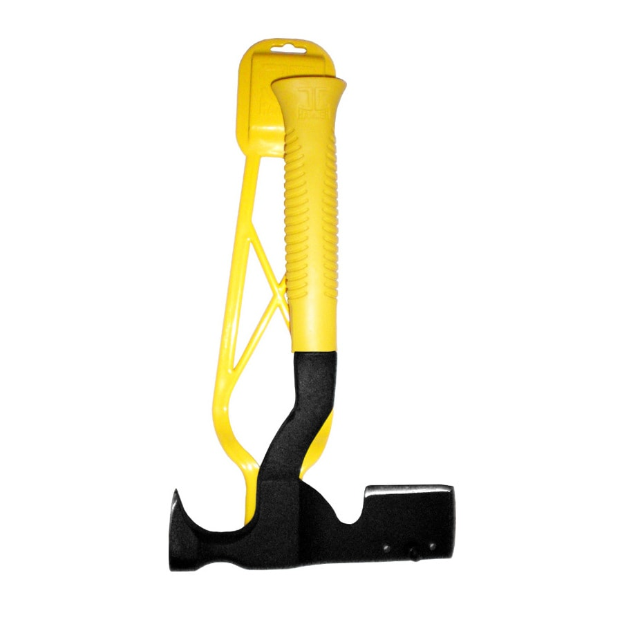 JC Hammer 16-oz Smoothed Face Steel Roofing Hammer