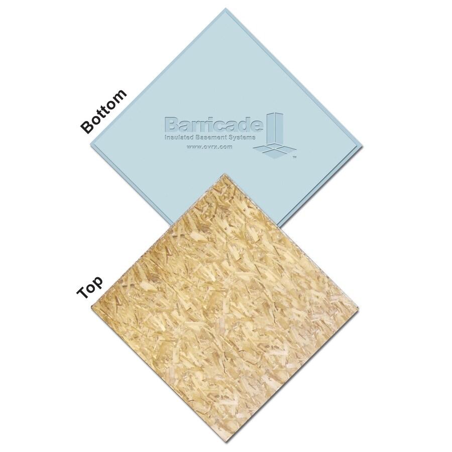 BARRICADE 1-1/8 x 2 x 2 OSB Subfloor