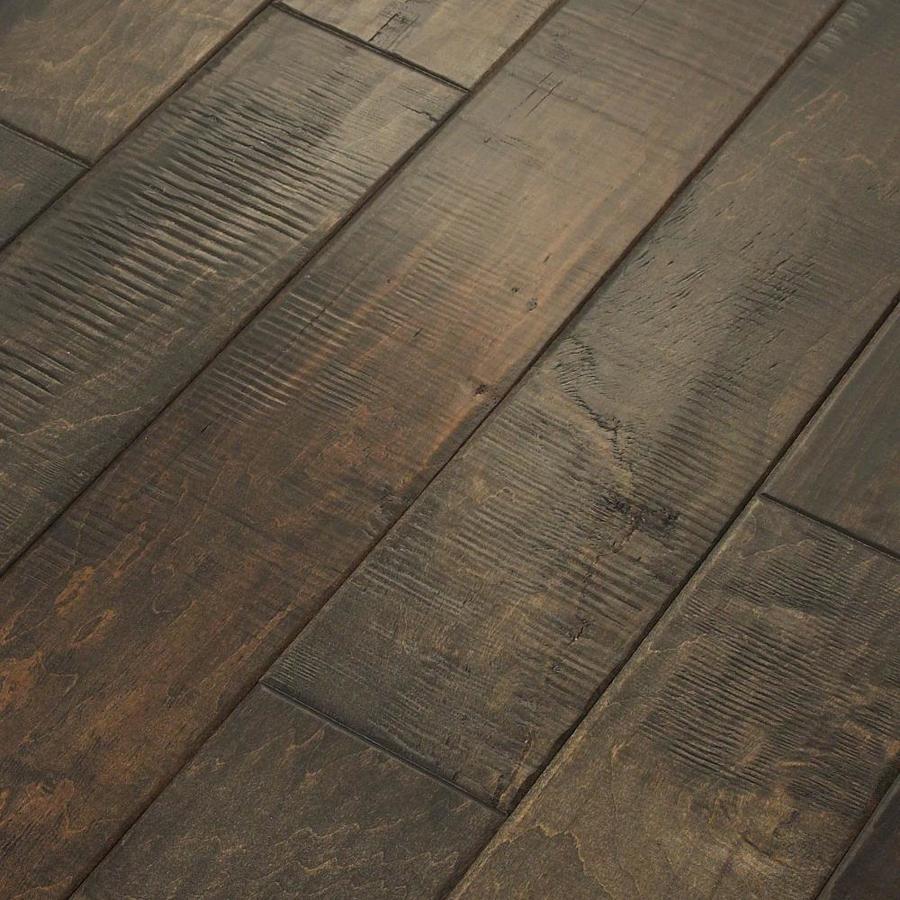 Shaw 4.94-in W Prefinished Maple Engineered Hardwood Flooring (Quarry)