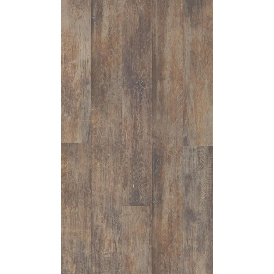 Style Selections 5.43-in W x 47.72-ft L Spalted Woodbark Plank Laminate Flooring