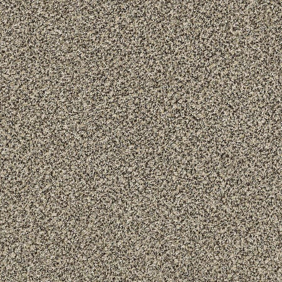 STAINMASTER Petprotect Mineral Bay Ii 15 Ft Cabana Textured Indoor Carpet