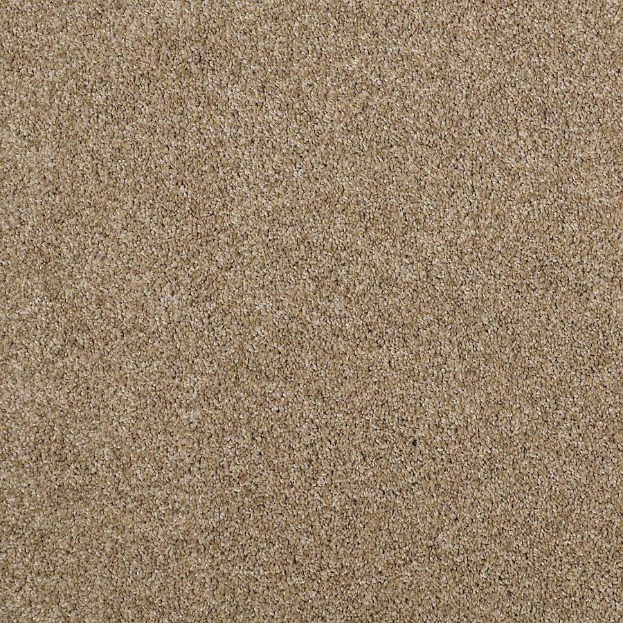 STAINMASTER PetProtect Foundry Sociable Tan Textured Indoor Carpet