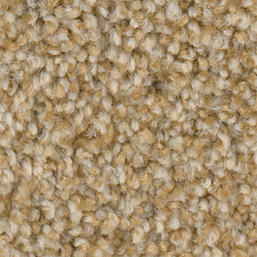 STAINMASTER Active Family Water Taxi Beeswax Textured Indoor Carpet
