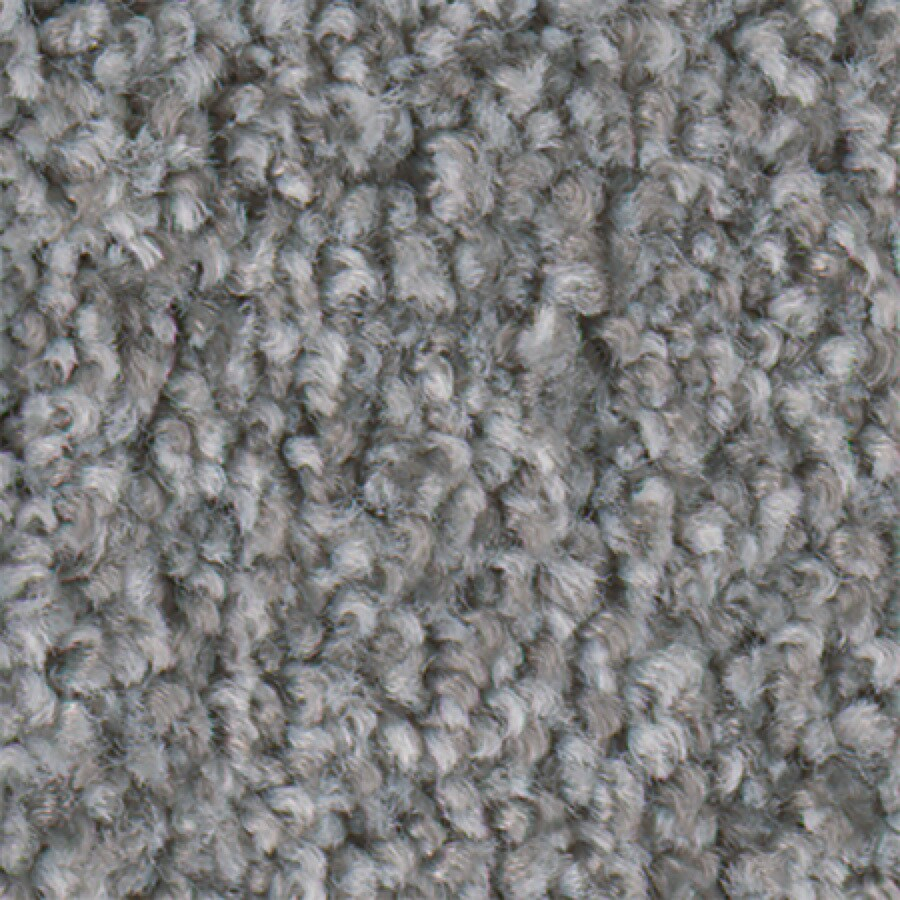 STAINMASTER Active Family Water Taxi Greystone Textured Indoor Carpet