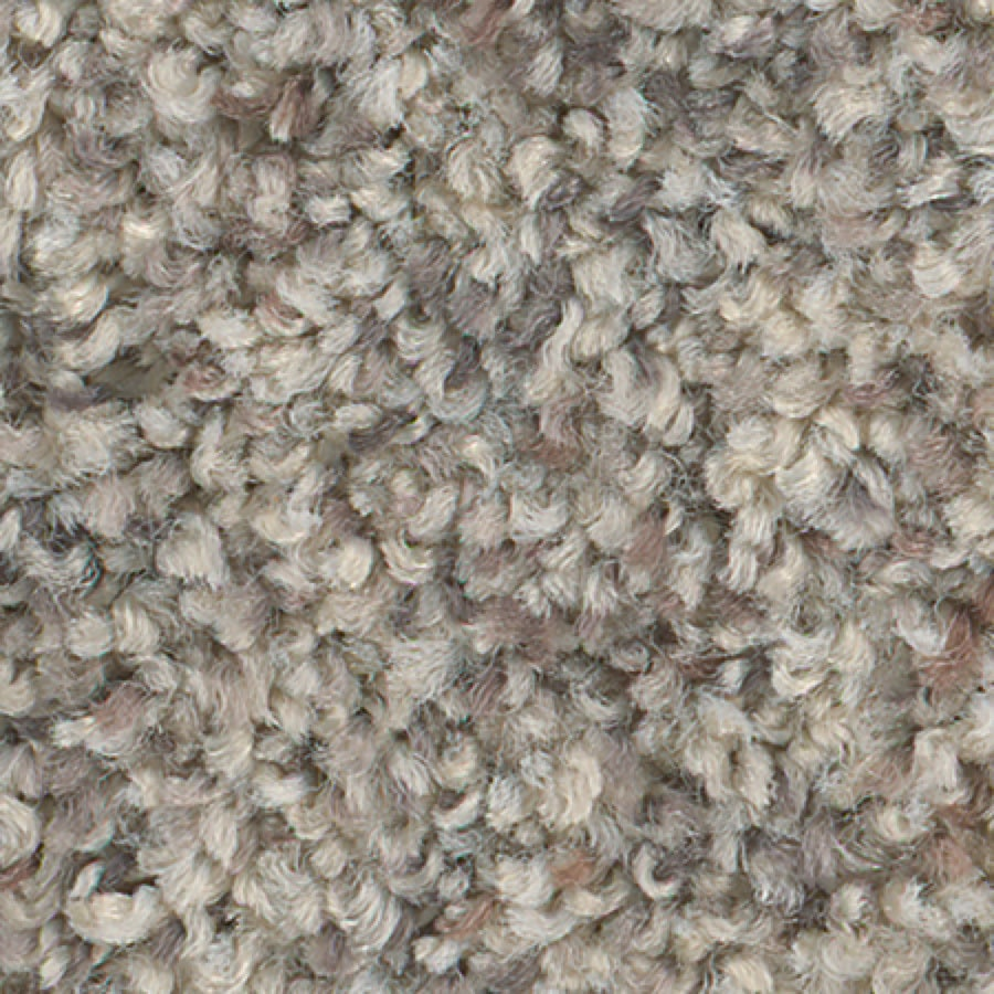STAINMASTER Active Family Water Tower Oyster Pearl Textured Indoor Carpet