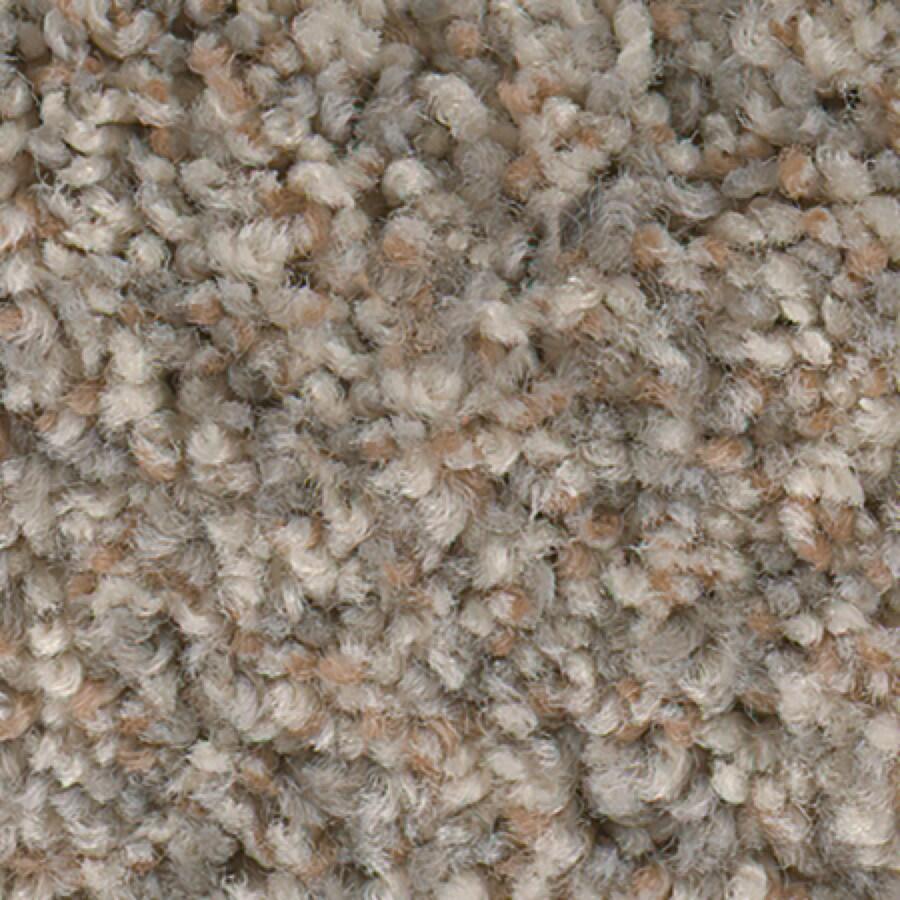 STAINMASTER Essentials Splash City Antique Buff Textured Indoor Carpet