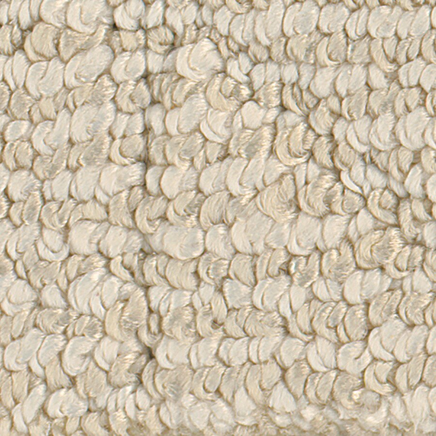 STAINMASTER Canoe Ivory Linen Pattern Indoor Carpet