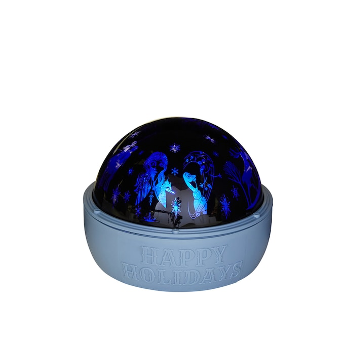 Disney Swirling Blue/Green LED Frozen Christmas Indoor Light Show Projector in the Light Show ...