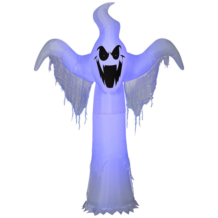 Gemmy 74715 Lightshow Airblown Shortcircuit Ghost Halloween Inflatable