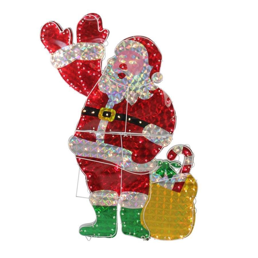 Konstsmide Christmas Lights Santa in Sleigh with Reno Adorno de Navidad Decoraci/ón//Funciona con pilas //Diodos de Navidad multicolor 3 x AAA excl.