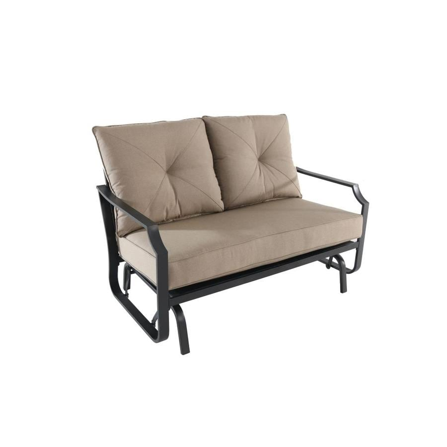 Garden Treasures Vinehaven Brown Porch Glider
