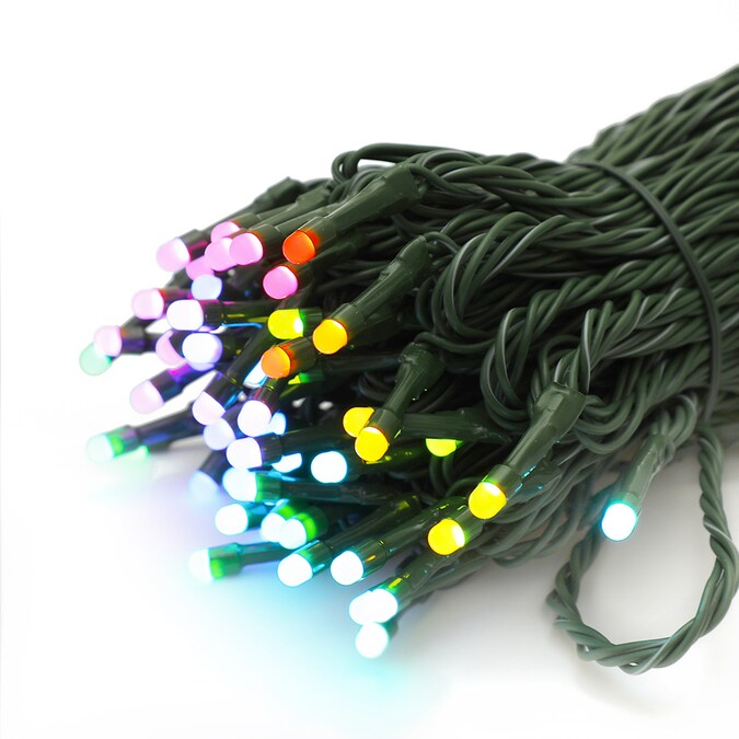 TWINKLY App Controlled 105CT 5MM RGB LED Lights at Lowes.com