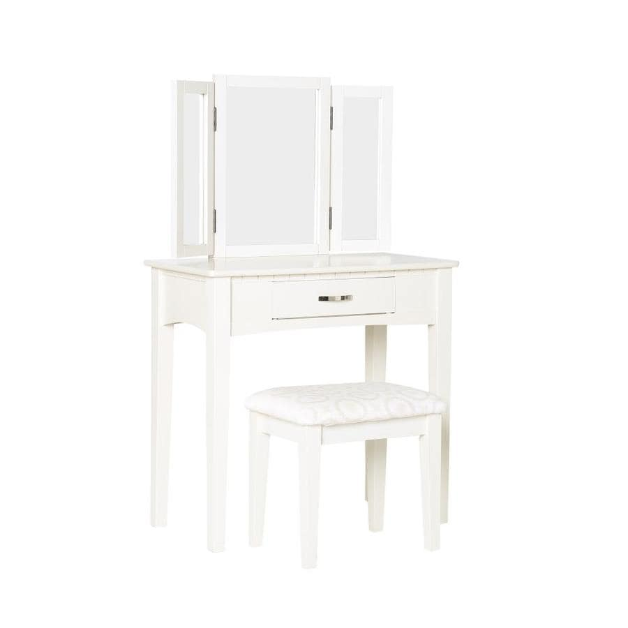 Furniture Of America 32 In White Makeup