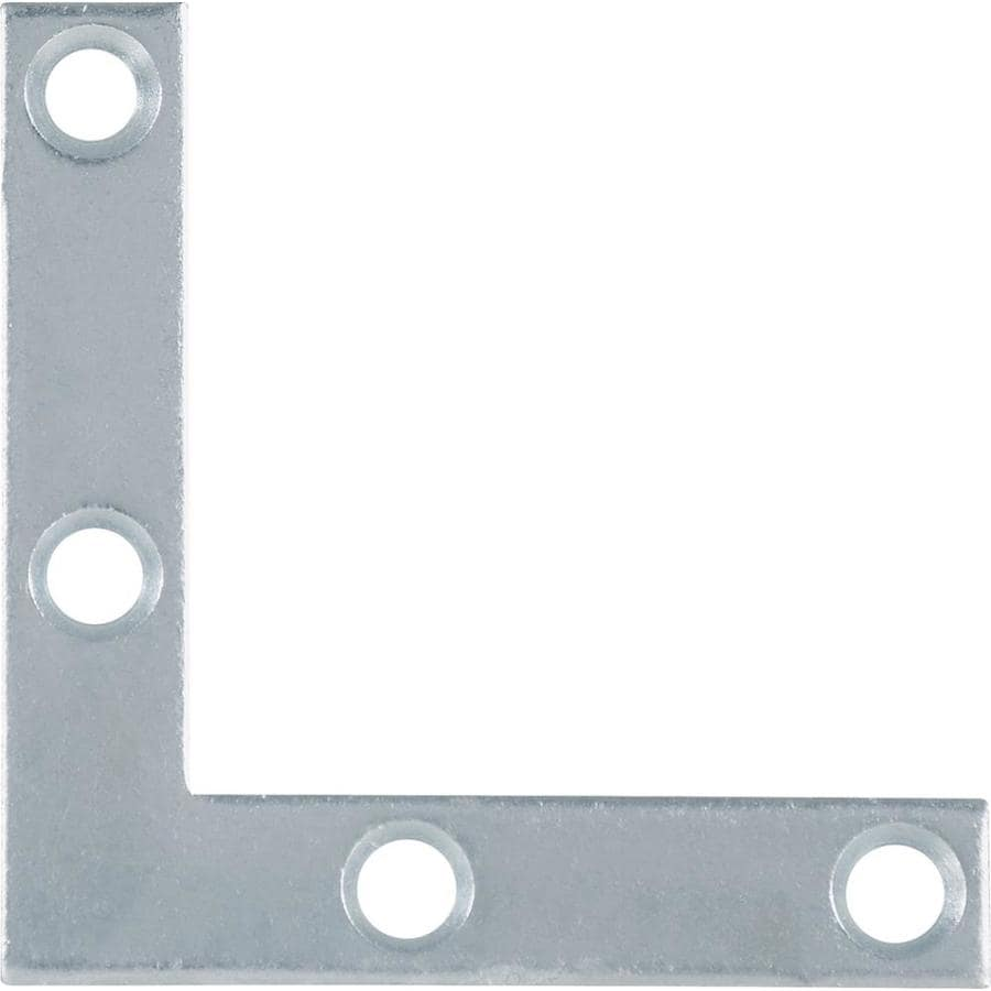 The Hillman Group 5-Pack 2-in Zinc Corner Braces