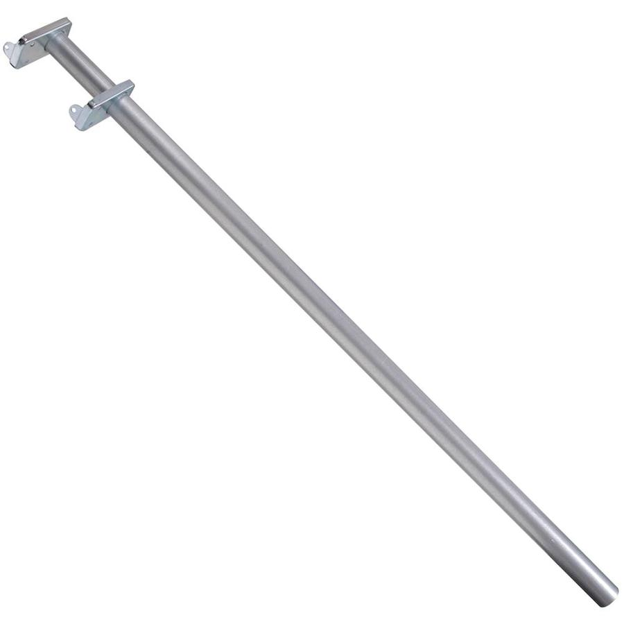 The Hillman Group 48-in x 1-in x 1-in Extendable Metal Closet Rod with Hardware