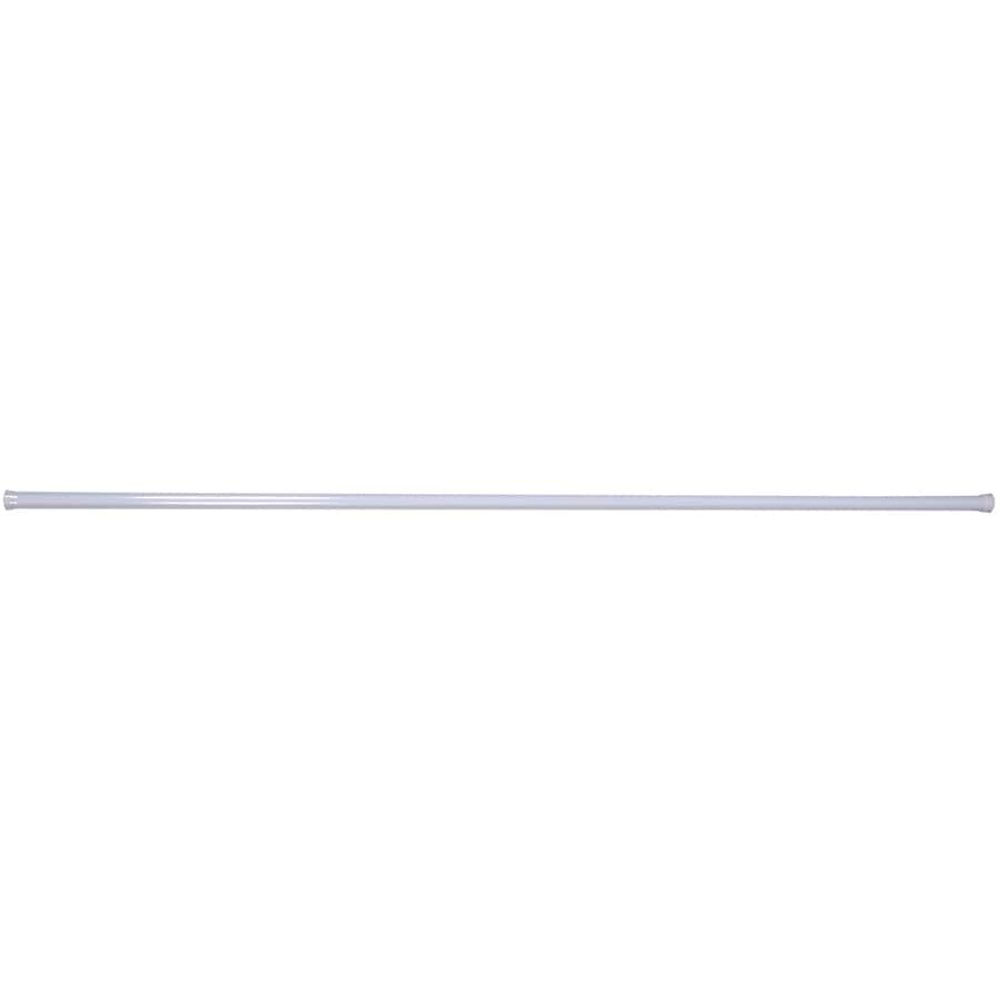 The Hillman Group 6-ft x 1.25-in x 1.25-in Metal Closet Rod