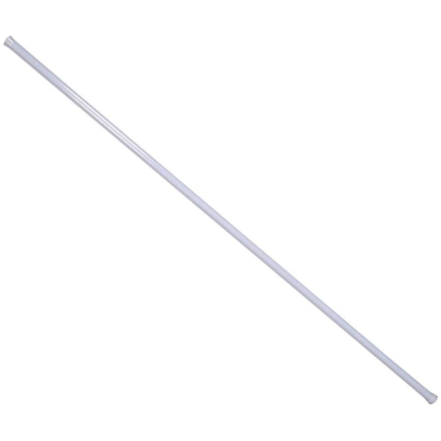 The Hillman Group 8-ft x 1.25-in x 1.25-in Metal Closet Rod