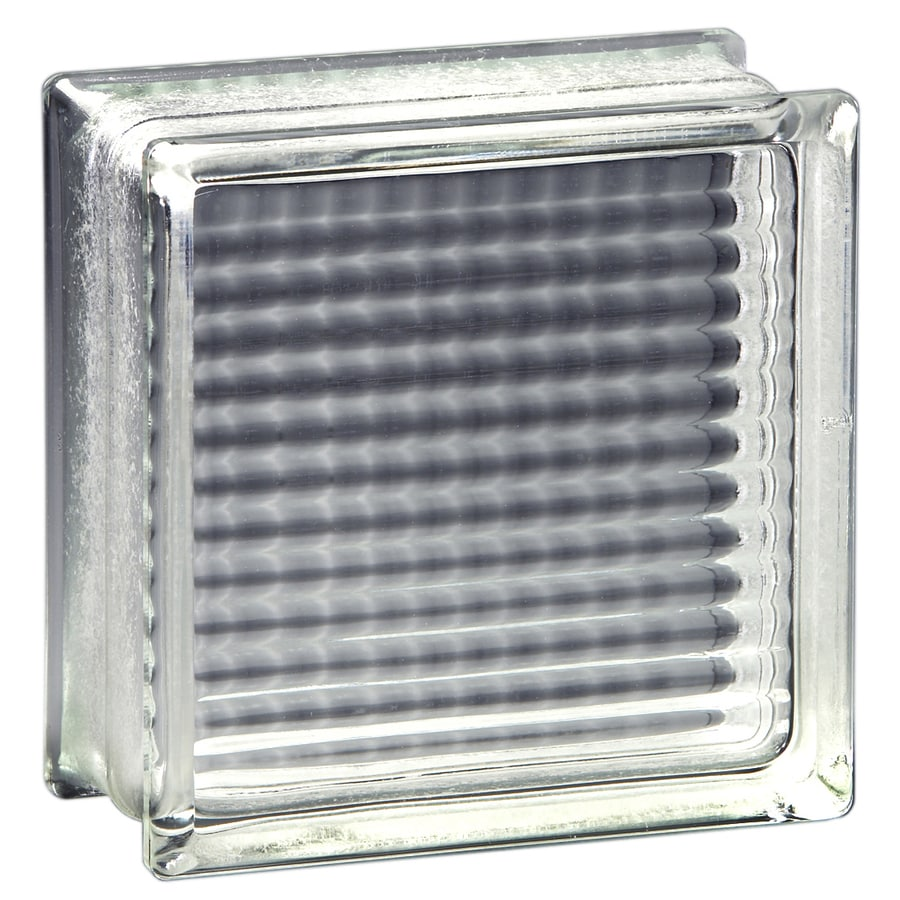 Pittsburgh Corning Thickset 90 Endura Premiere 4-Pack Glass Blocks (Common: 8-in H x 8-in W x 4-in D; Actual: 7.75-in H x 7.75-in W x 3.87-in D)
