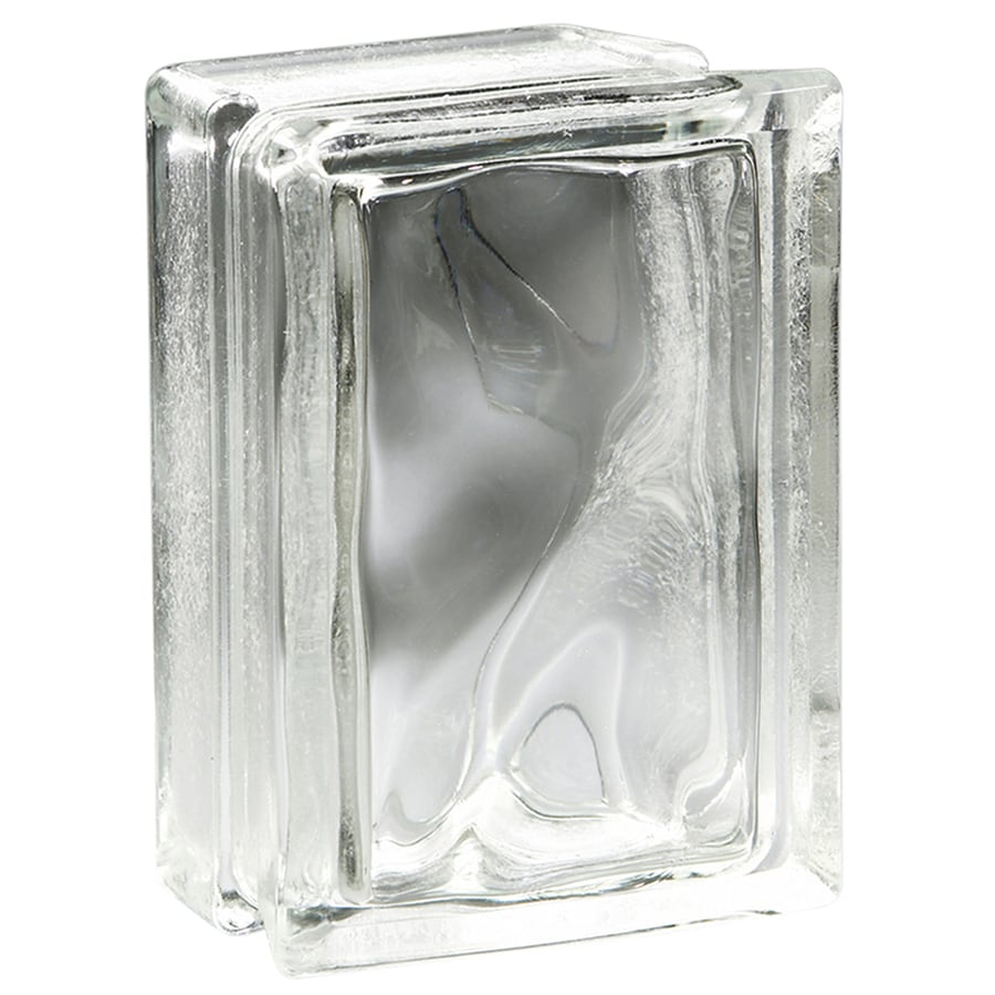 Pittsburgh Corning Arque Decora Blocks Premiere 4-Pack Glass Blocks (Common: 8-in H x 6-in W x 4-in D; Actual: 7.75-in H x 5.75-in W x 3.87-in D)