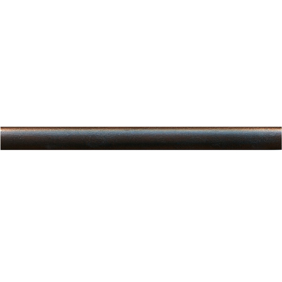 Somerset Collection 20-Pack Somerset Oil-Rubbed Bronze Metal Tile Liner (Common: 1/2-in x 6-in; Actual: 0.5-in x 5.94-in)