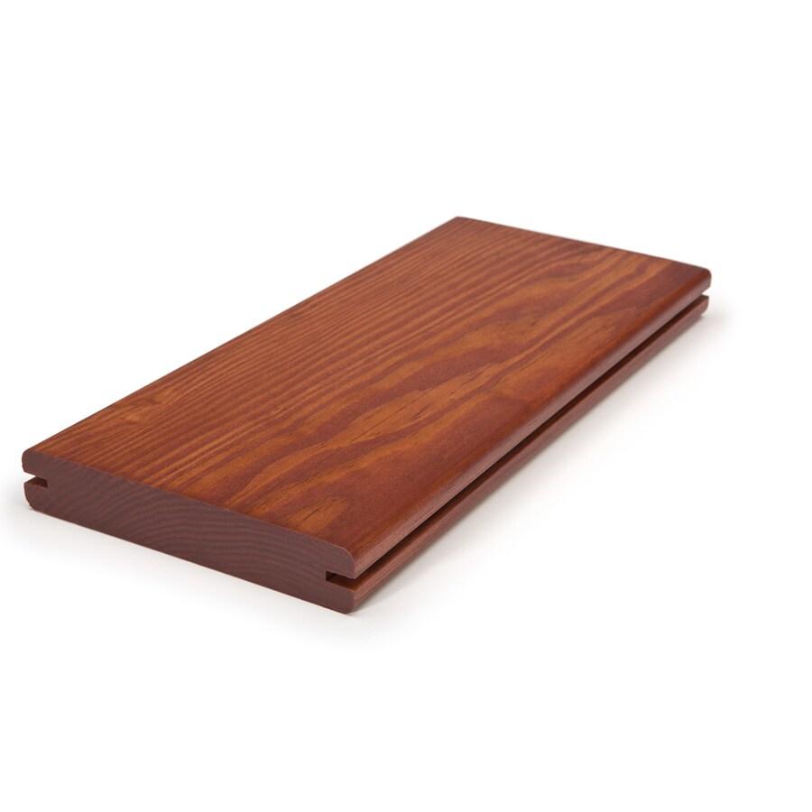 Perennial Wood 1-1/4 x 6 x 12 Redwood Modified Wood Alternative Decking
