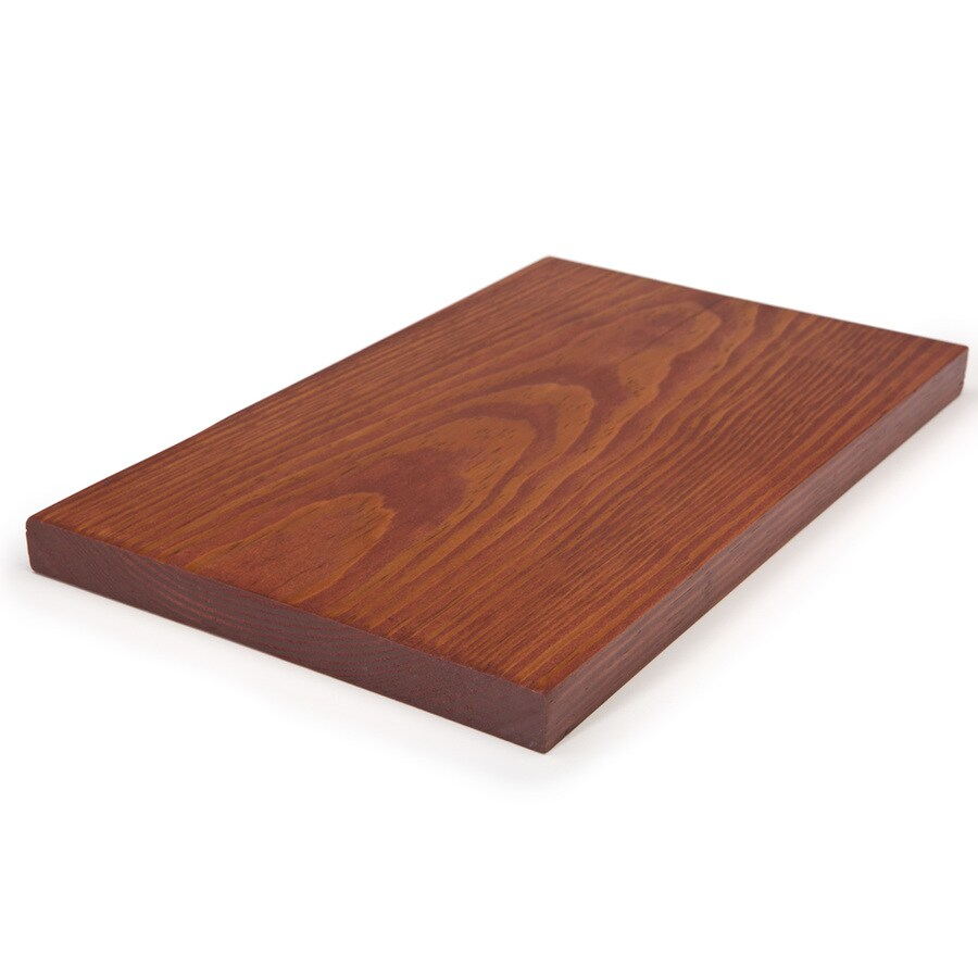 Shop Perennial Wood 3 4 X 11 1 4 X 12 Redwood Composite