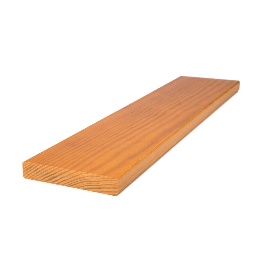 Shop perennial wood 5 4 x 6 x 16 premium treated decking for Perennial wood