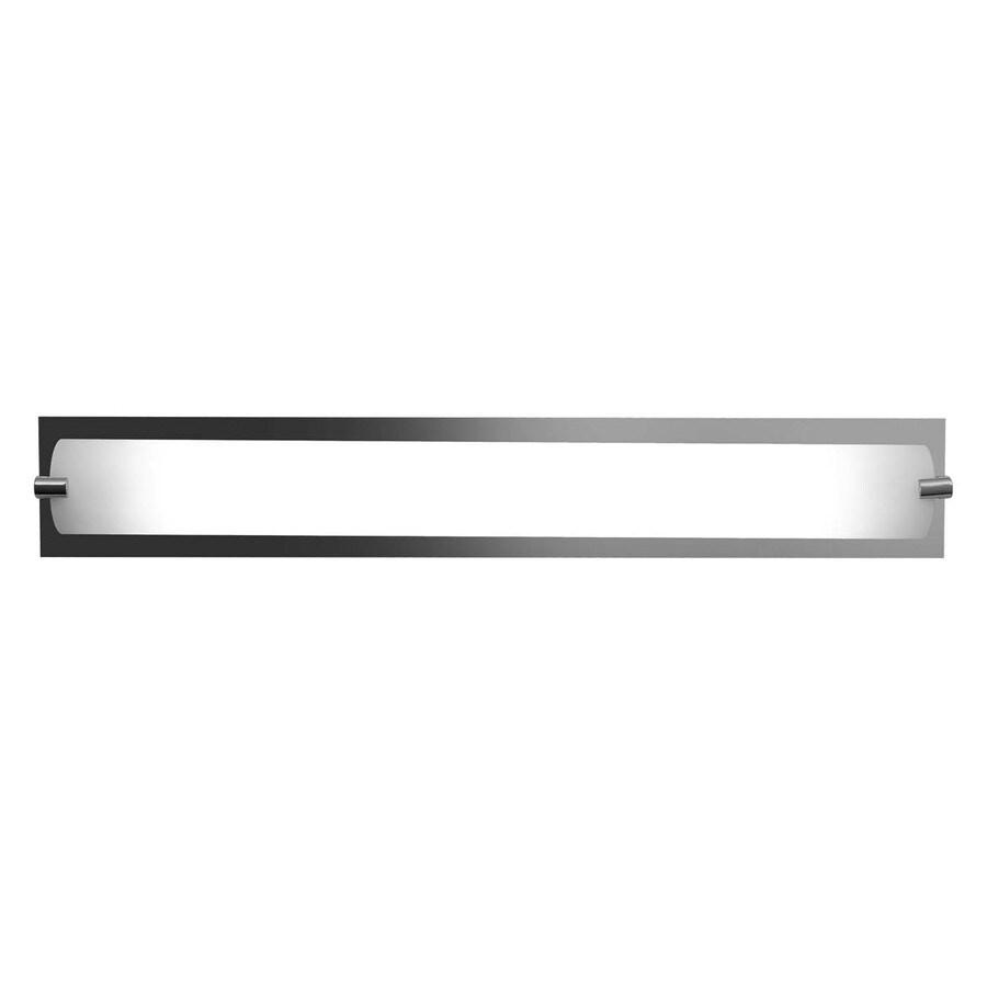 Access Lighting Geneva 24.5-in W 1-Light Chrome Pocket Hardwired Wall Sconce