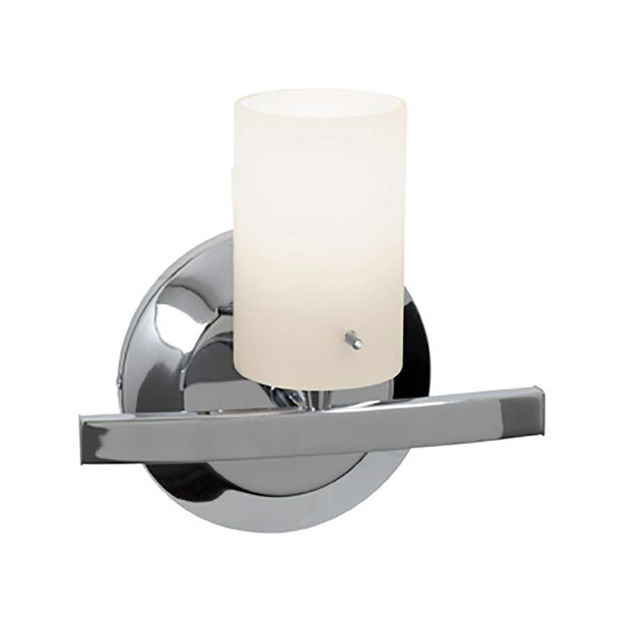 Access Lighting Classical W 1-Light Chrome Arm Hardwired Wall Sconce