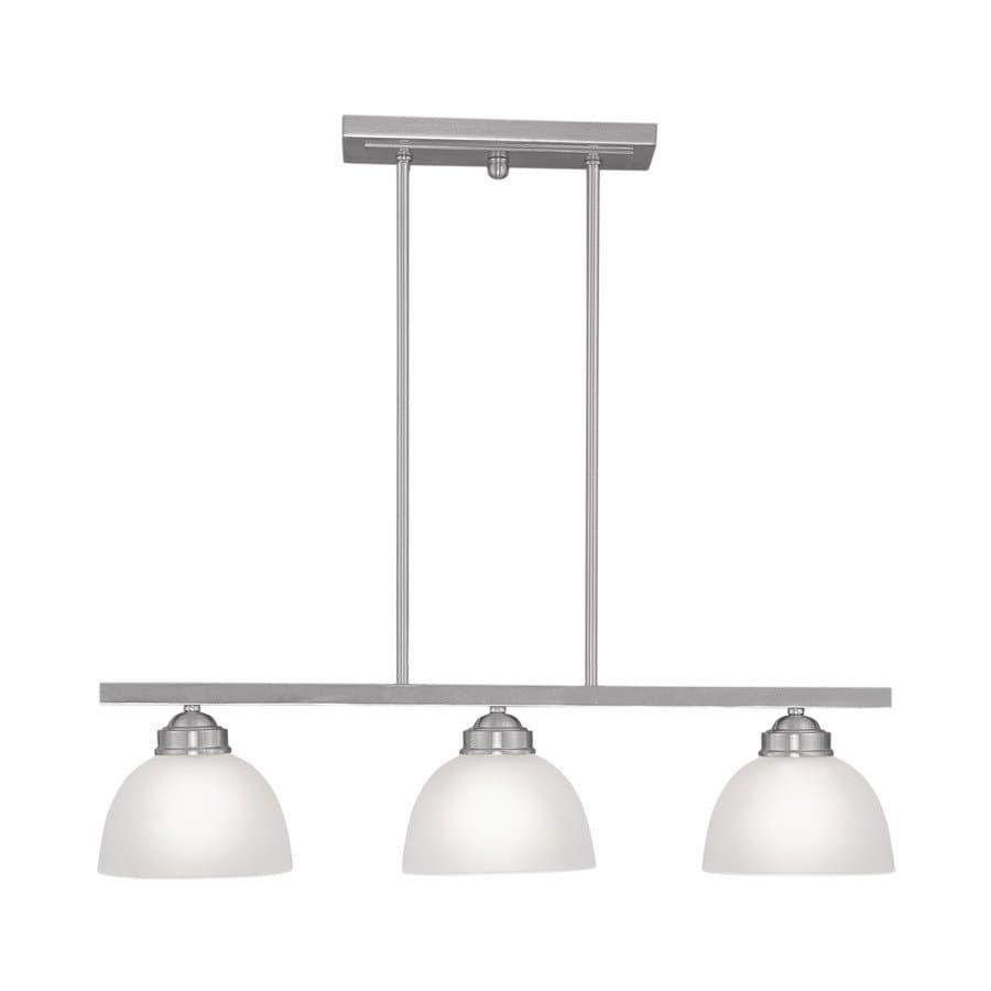 Shop Livex Lighting Somerset 6.5-in W 3-Light Brushed