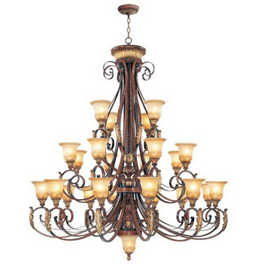 Livex Lighting Villa Verona 24-Light Verona Bronze Chandelier